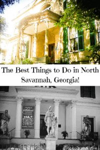 The Best Things to Do in North Savannah
