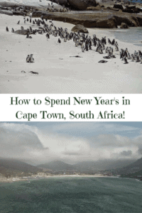 How to Celebrate New Year's in Cape Town