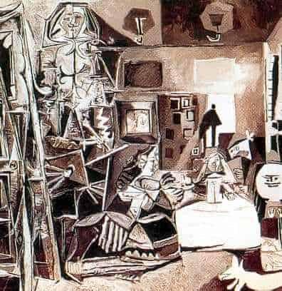Las Meninas by Pablo Picasso, Image Credit