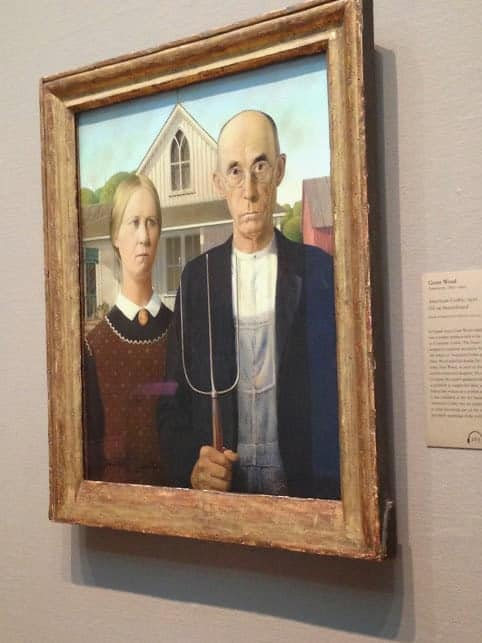 Art Institute Chicago American Gothic