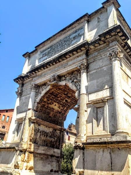 Arch Roman Forum