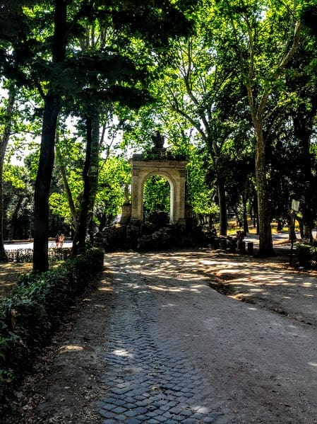 Borghese Park Arch