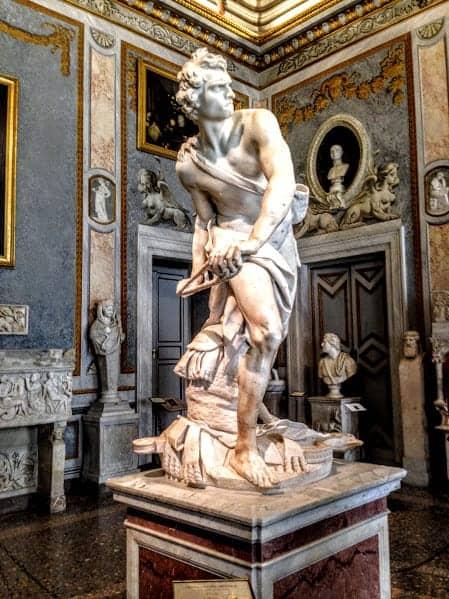 Galleria Borghese David Bernini