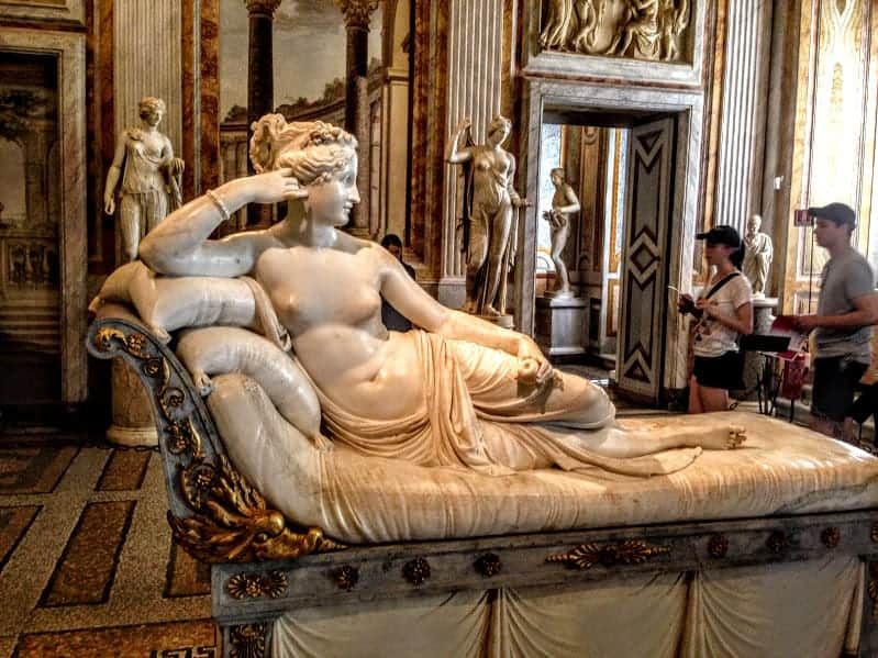 Galleria Borghese Antonio Canova