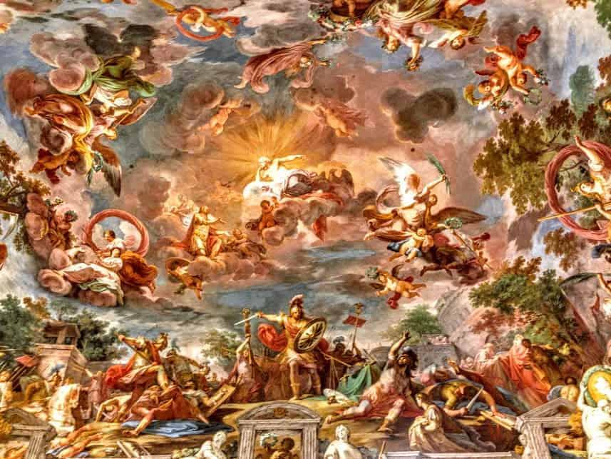 Ceiling Galleria Borghese