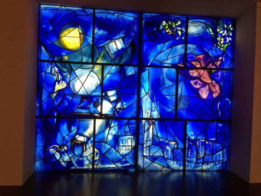 Art Institute Chicago Marc Chagall Windows
