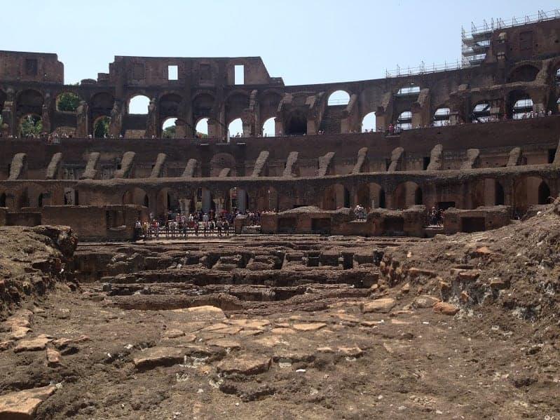 Colosseum Lower Part
