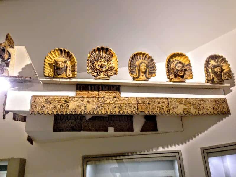Creepy Faces Museo Nazionale Etrusco di Villa Giulia