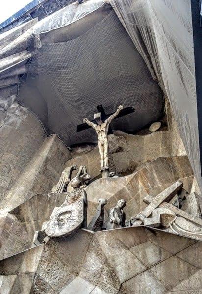 Crucifixion La Sagrada Familia
