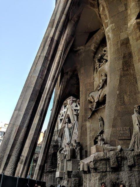 Death Facade La Sagrada Familia