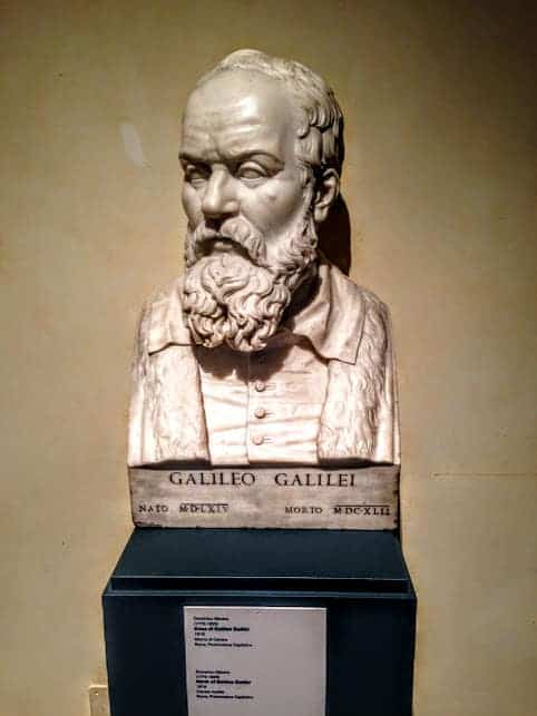Galileo 24 hours in Rome capitoline museum