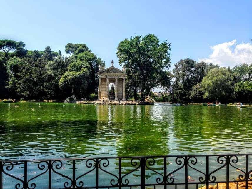 Lake Borghese Park