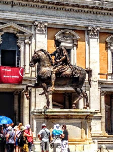 Marcus Aurelius capitoline museum