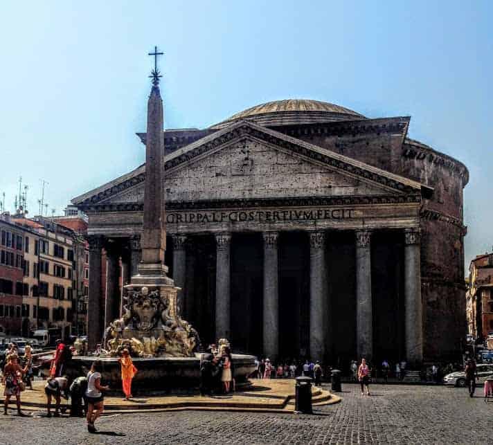 Pantheon Exterior Rome