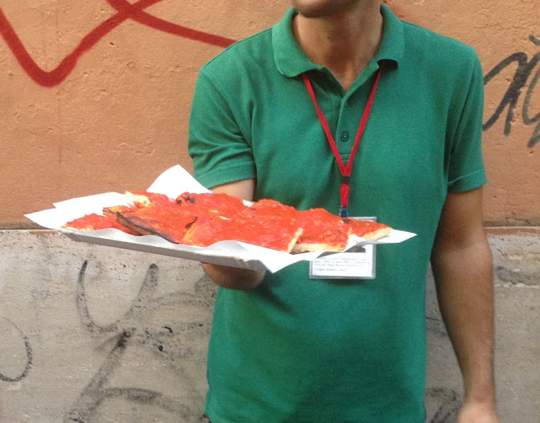 Pizza Trastevere Rome