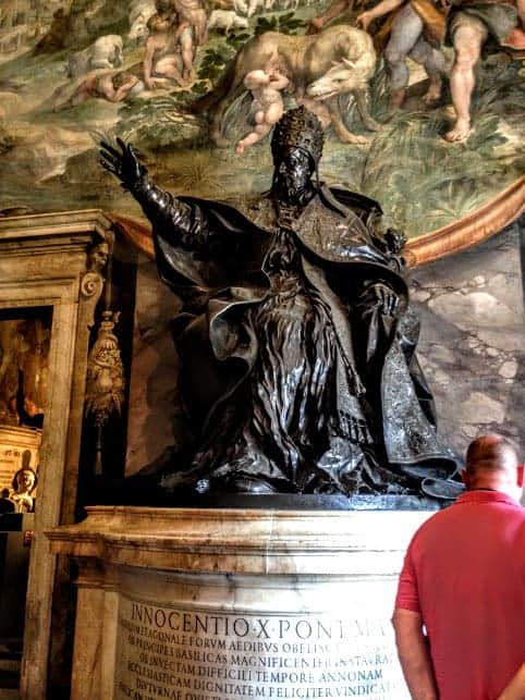 Pope Innocent X capitoline museum