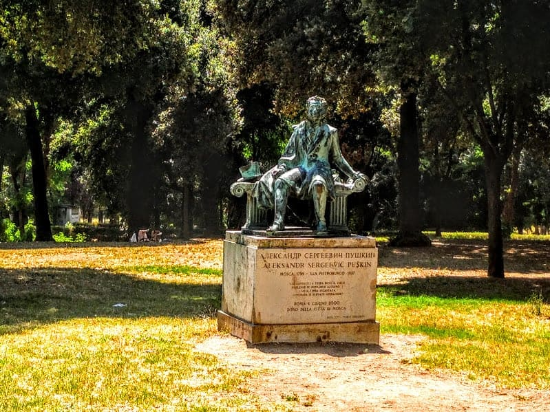 Pushkin Borghese Park