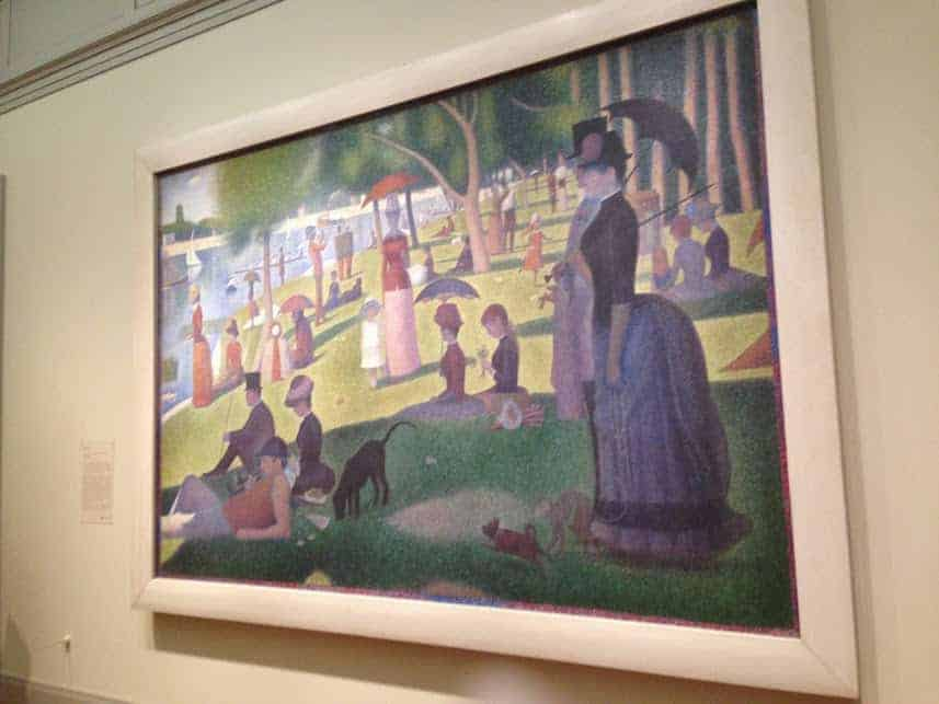 Art Institute Chicago Seurat