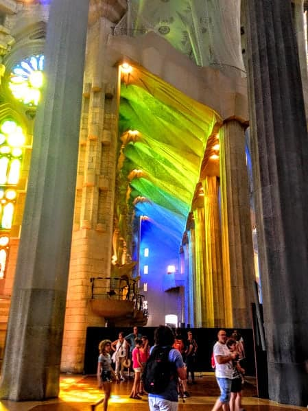 Stained Glass La Sagrada Familia