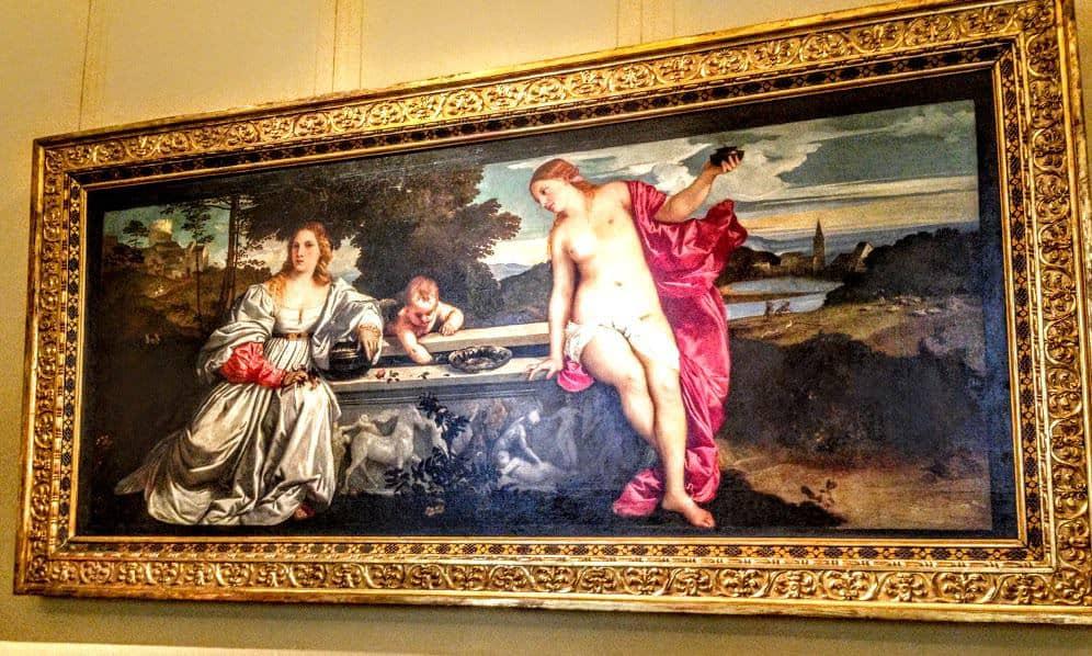 Titian Galleria Borghese
