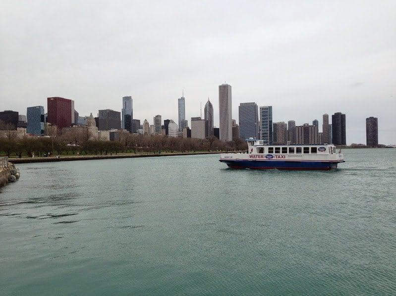 Water Taxi lake michigan