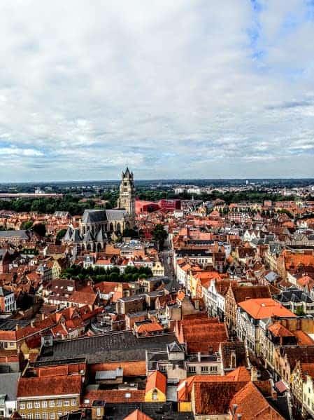 Belfort Bruges Views