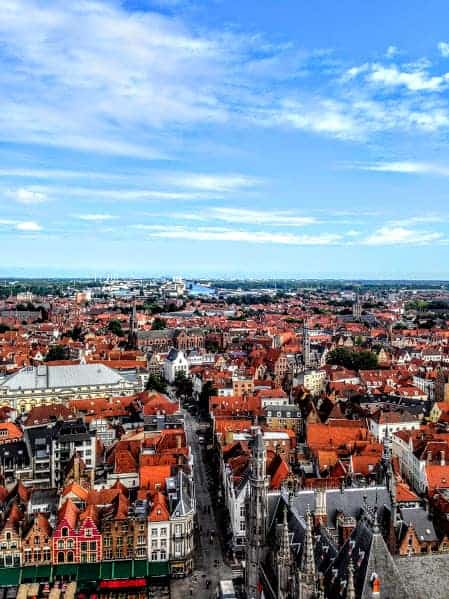 24 hours in Bruges View