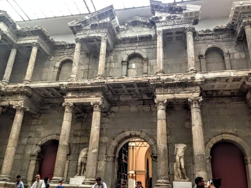 pergamon museum Berlin gate of miletus
