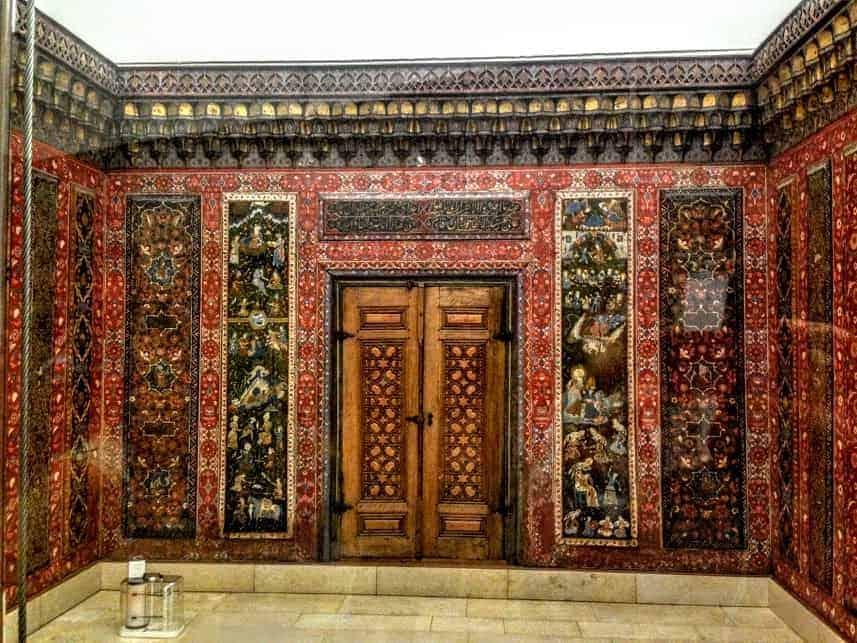 pergamon museum Berlin aleppo room