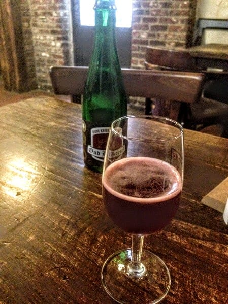 Kriek beer and chocolate tour brussels