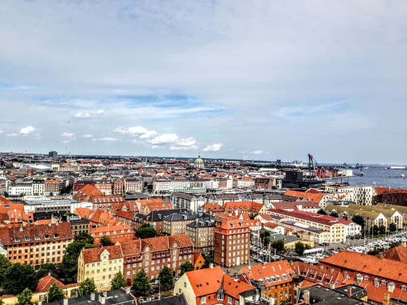 Copenhagen View Vor Frelsers Kirke
