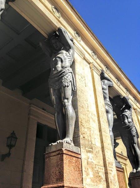 Good Luck Statue st petersburg russia