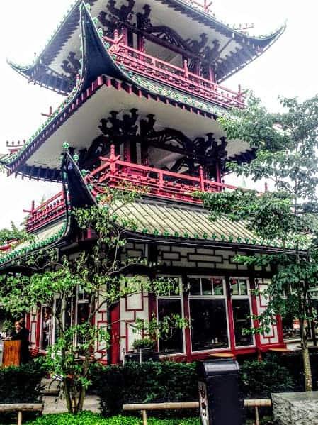 Pagoda tivoli gardens