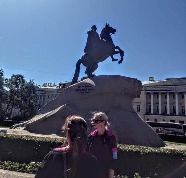 Peter the Great Statue st petersburg russia