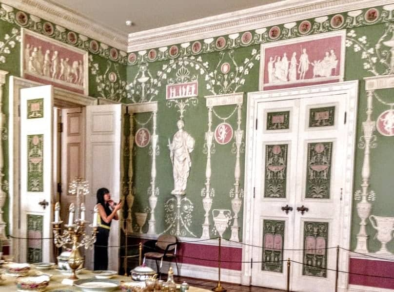 Porcelain  catherine palace st. petersburg russia