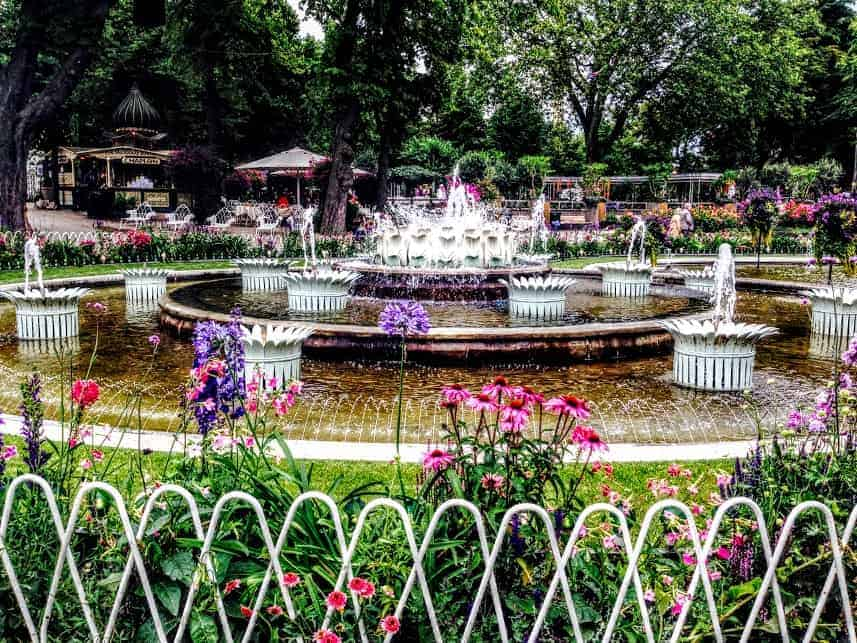 Tivoli Gardens Flowers