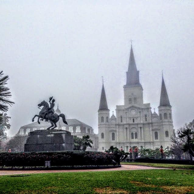 french quarter new orleans jackson square