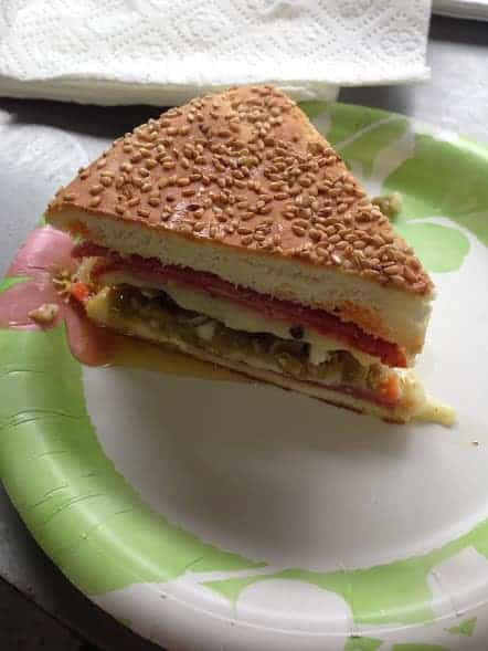 french quarter new orleans muffuletta