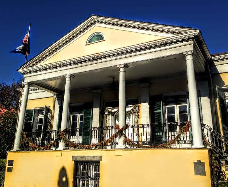 24 hours in New Orleans country club