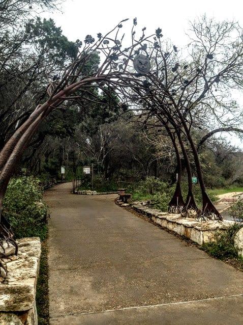 zilker park entrance