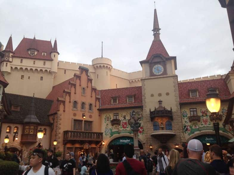 24 Hours in EPCOT Germany