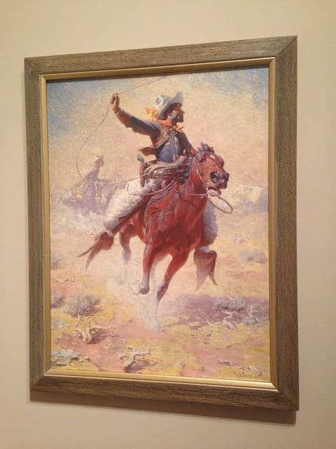 The Roping, by William Robinson Leigh.