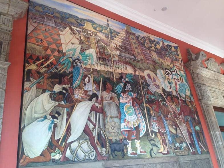 Palacio Nacional 24 hours in mexico city