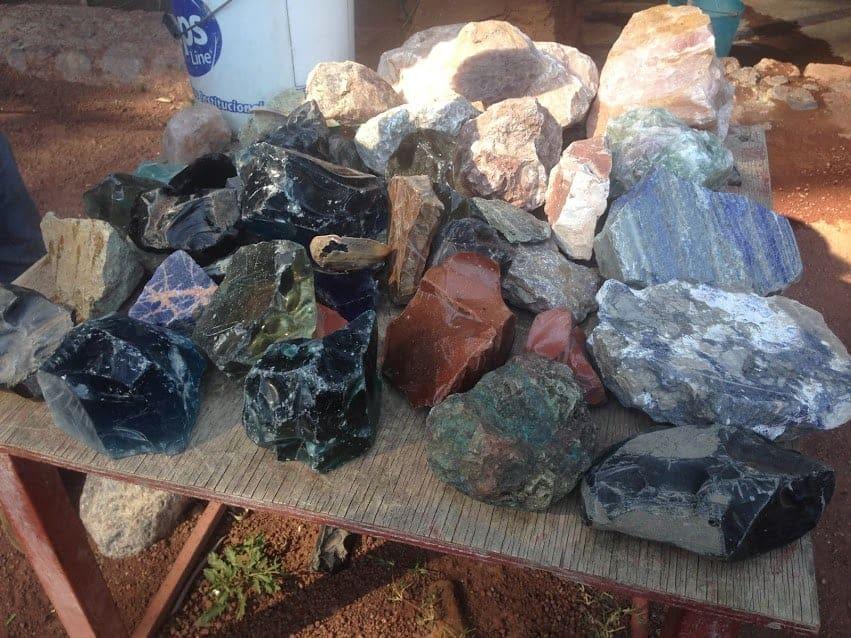 Casa Museo de las Piedras obsidian
