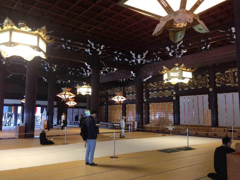 24 hours in Kyoto higashi honganji