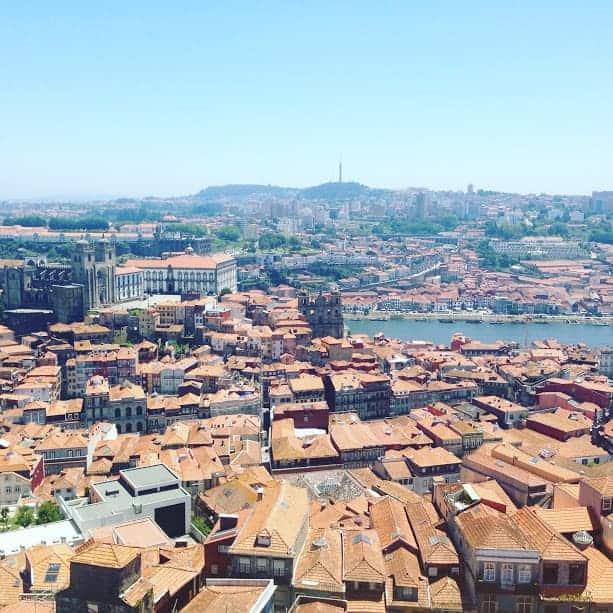 Clerigos Tower Porto Portugal