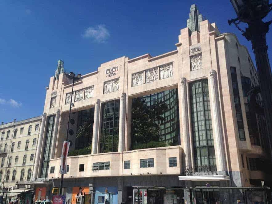24 hours in Lisbon eden teatro