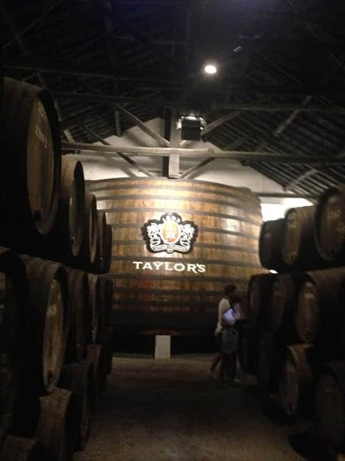 taylor's port wine porto portugal