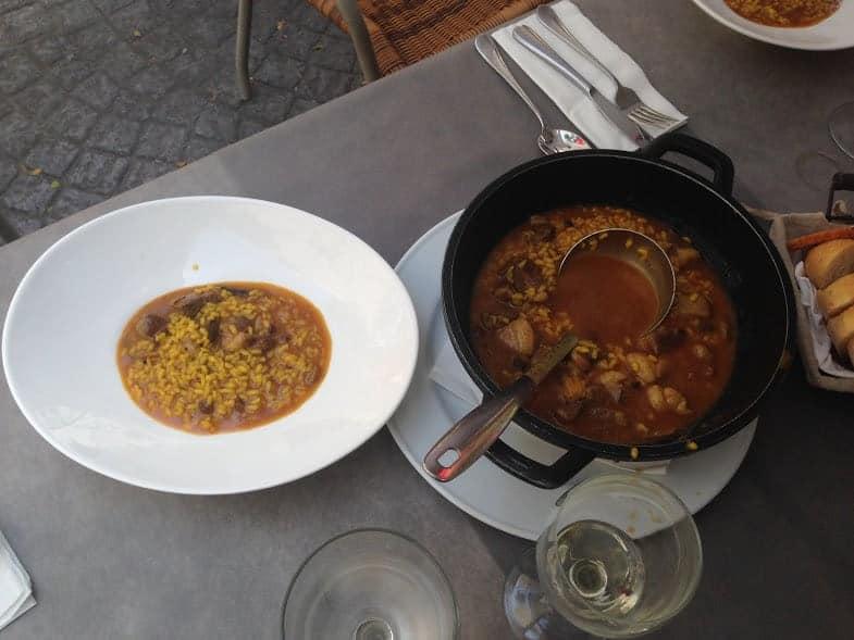arroz meloso valencia
