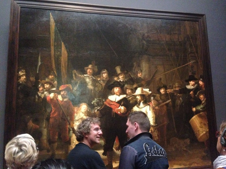 Rijksmuseum nightwatch rembrandt